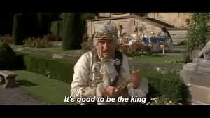 Mel-Brooks-Its-good-to-be-the-king-300x1